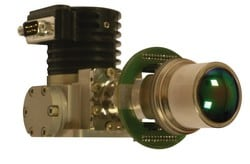 Détecteur infrarouge - Objectif de la caméra